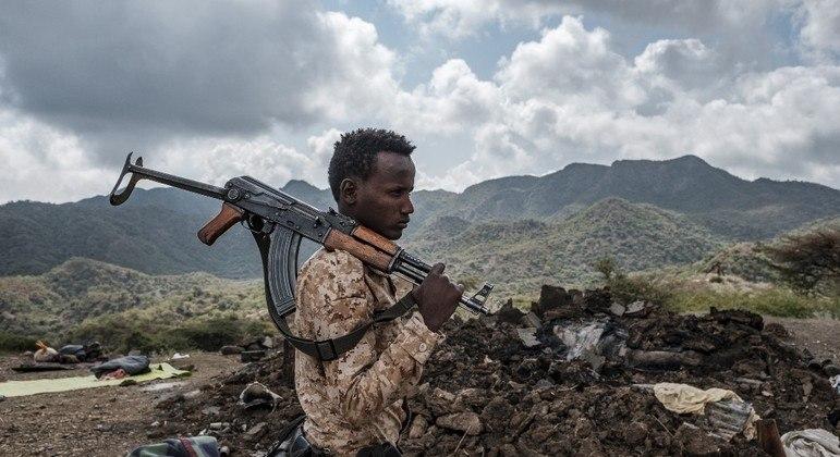 Rebeldes e tropas do governo entraram em conflito na região de Afar, na Etiópia