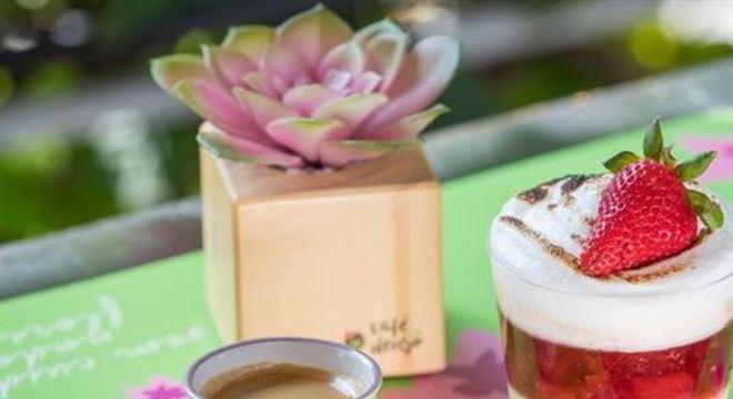 Eu amo café acontece de 5 de novembro a 1º de dezembro, oferecendo sugestões com espresso e sobremesa