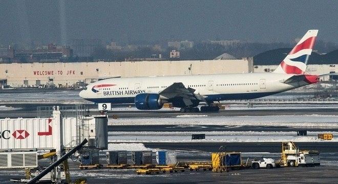 Estados Unidos ainda mantêm voos procedentes do Reino Unido