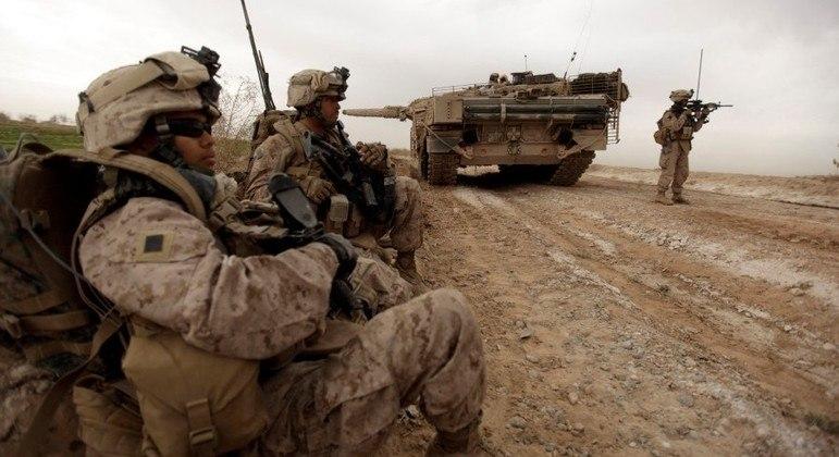 Militares norte-americanos vão deixar o país até 11 de setembro