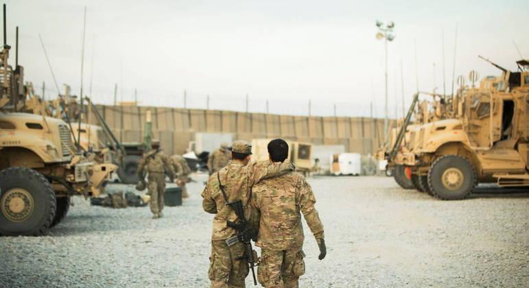 Depois de 20 anos, americanos deixarão o Afeganistão