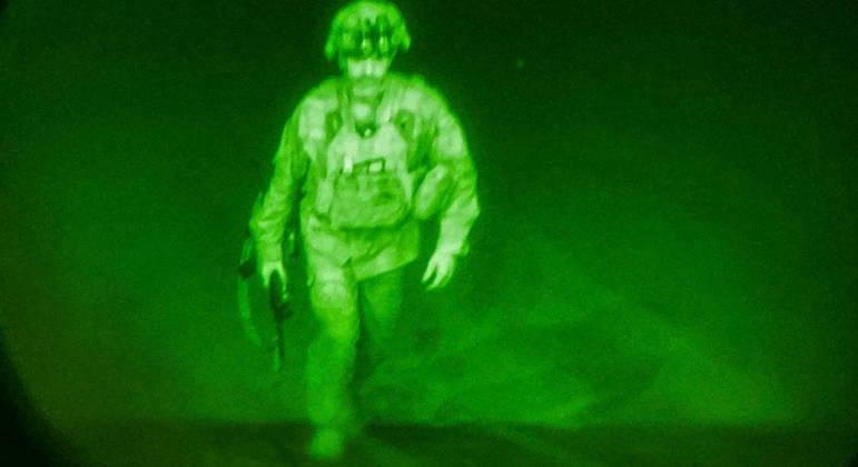 General Chris Donahue, o último militar dos EUA a deixar o Afeganistão