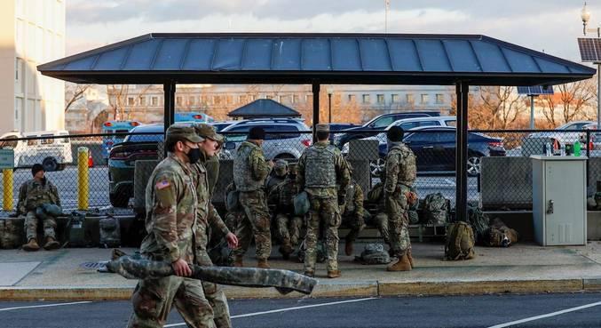 Guarda Nacional continua na capital, mesmo depois da posse de Biden