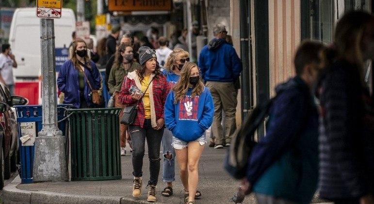Seattle é a primeira cidade dos EUA a atingir 70% de vacinação contra covid
