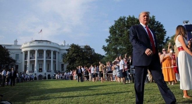 Trump mandou notificação sobre a saída dos EUA da OMS ao Congresso
