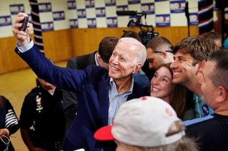 Joe Biden é o pré-candidato democrata mais cotado