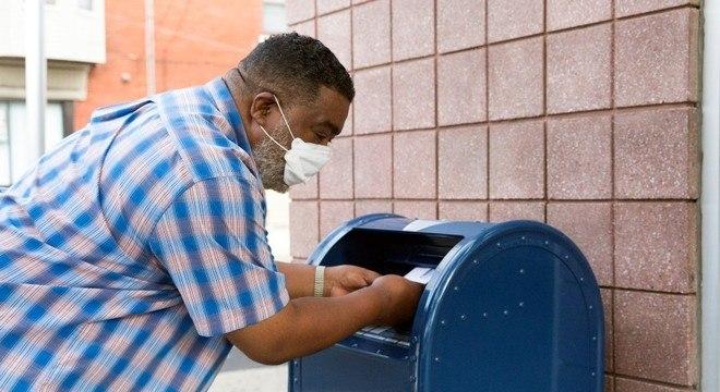 Correio dos EUA avisa que pode ter dificuldades com a eleição