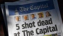 EUA: homem que matou 5 em jornal cumprirá pena na prisão