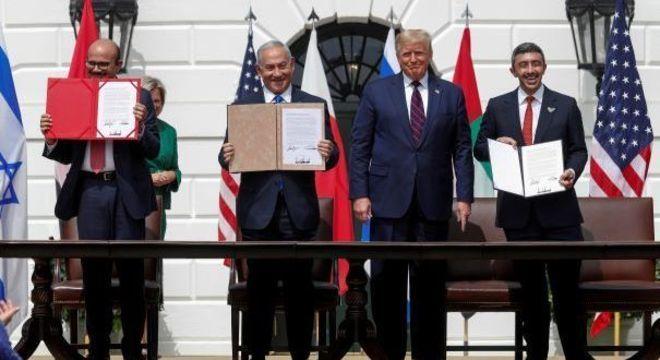 Sanções são discutidas uma semana após os EUA negociaram acordos com Emirados Árabes e Barein