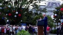 No 4 de Julho, Biden alerta que covid-19 ainda não foi derrotada