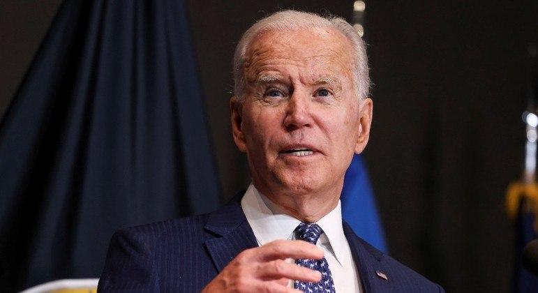 Joe Biden, presidente dos Estados Unidos, enviou soldados para o Afeganistão