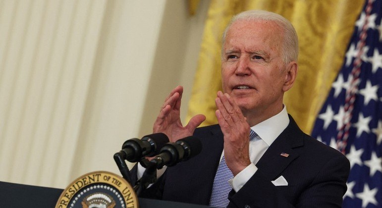 Joe Biden anunciou medidas para tentar frear a propagação da variante Delta nos EUA