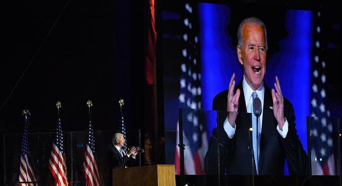 """Biden disse que EUA estão em meio a """"inverno sombrio"""" por conta da covid-19"""