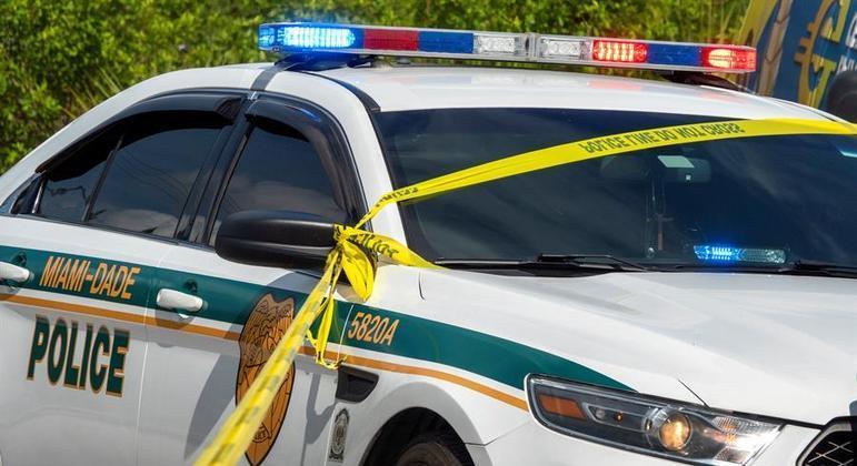 A polícia de Miami ainda procura os autores do tiroteio