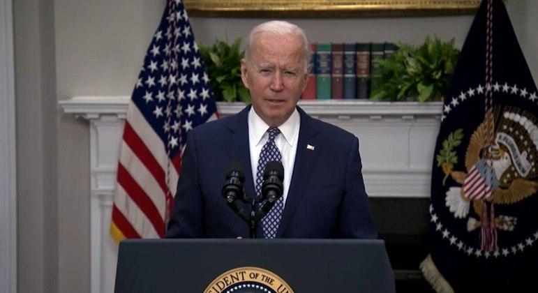 Presidente dos EUA disse que quase 80 mil pessoas foram retiradas do Afeganistão desde julho