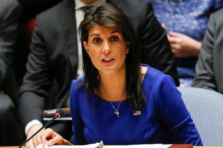 Embaixadora dos Estados Unidos na ONU, Nikki Haley