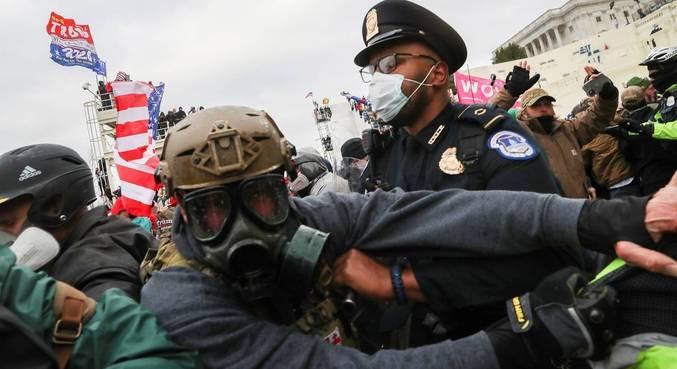 Invasão de manifestantes ao Congresso dos EUA