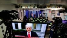 'Sei como se sentem, mas vão para casa', diz Trump em vídeo