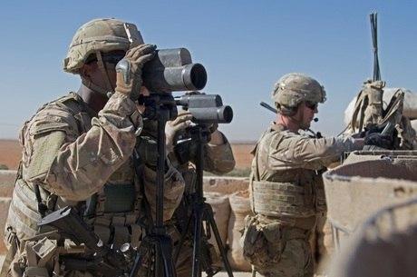 Tropas americanas combatem na Síria