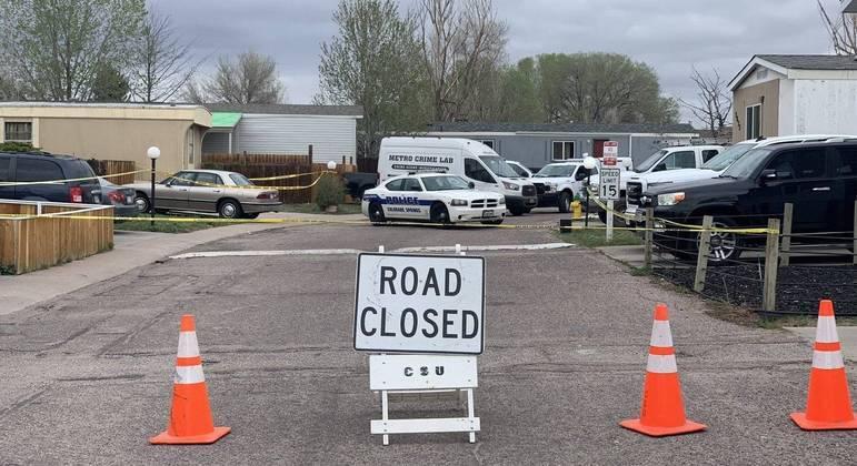 O tiroteio aconteceu na manhã deste domingo em um estacionamento de trailers no Colorado