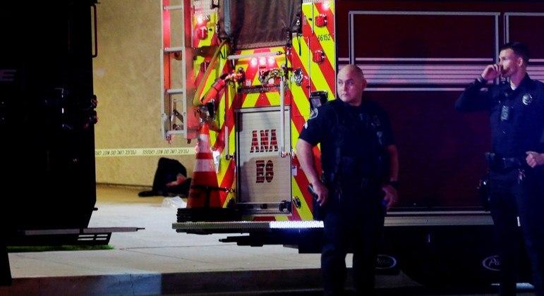Ataque ocorreu em um conjunto empresarial na cidade de Orange