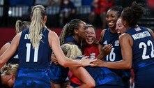 Seleção feminina dos EUA bate Sérvia e vai à final olímpica do vôlei