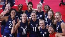 Brasil decide ouro no vôlei contra EUA, freguês em Olimpíadas