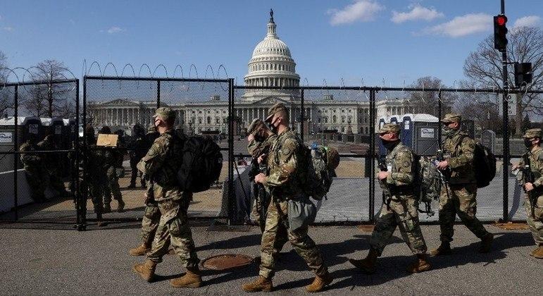 Guarda Nacional deve permanecer em Washington por mais dois meses