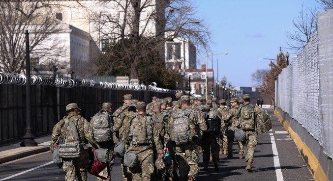 Cerca de 20 mil homens da Guarda Nacional foram mobilizados para a posse