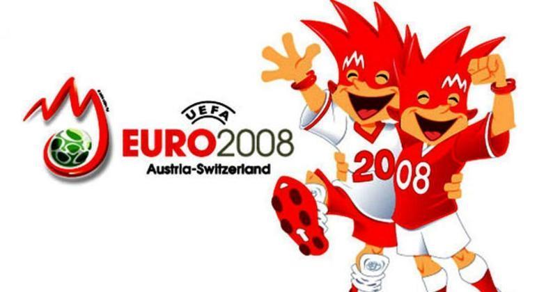 Um cartaz da Euro2008
