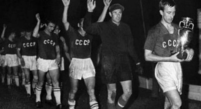 A ex-URSS, campeã da Eurocopa de 1960