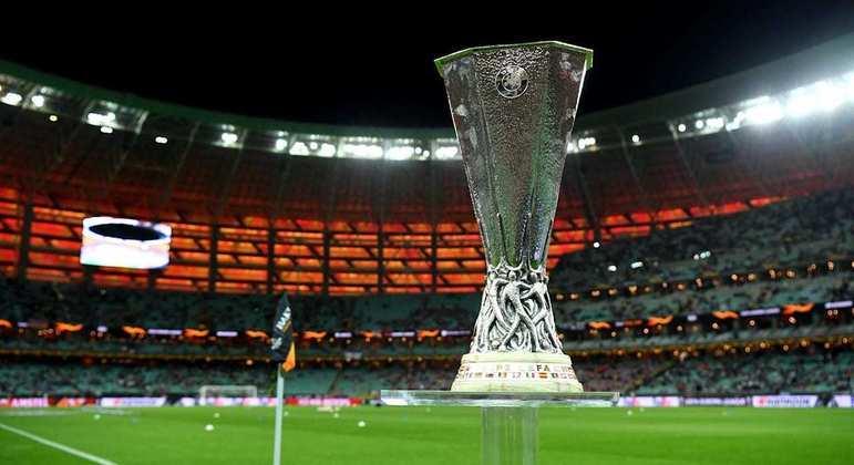 O troféu da Europa League