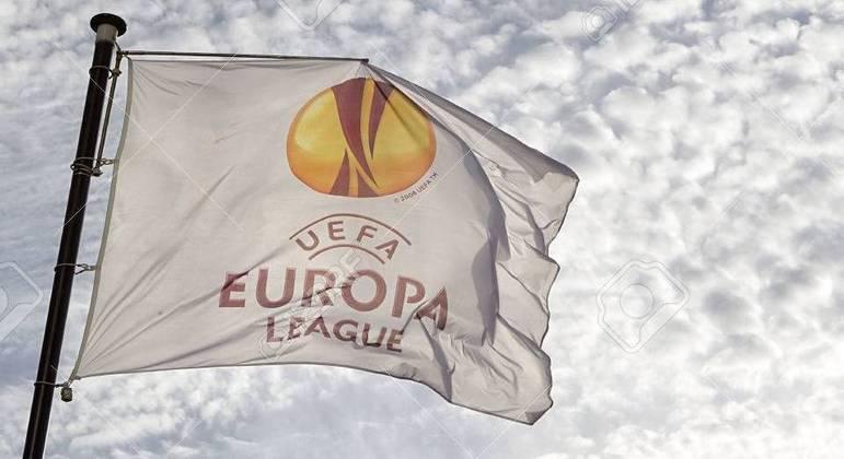 A bandeira da Europa League