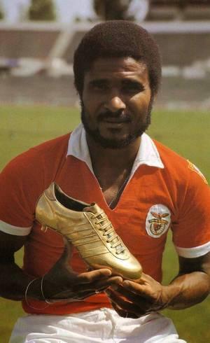 Eusébio, o maior de todos, no Benfica