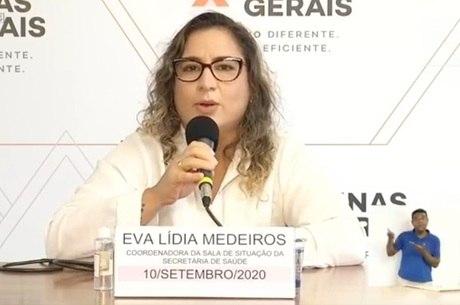 Eva Medeiros atualiza dados sobre a covid-19