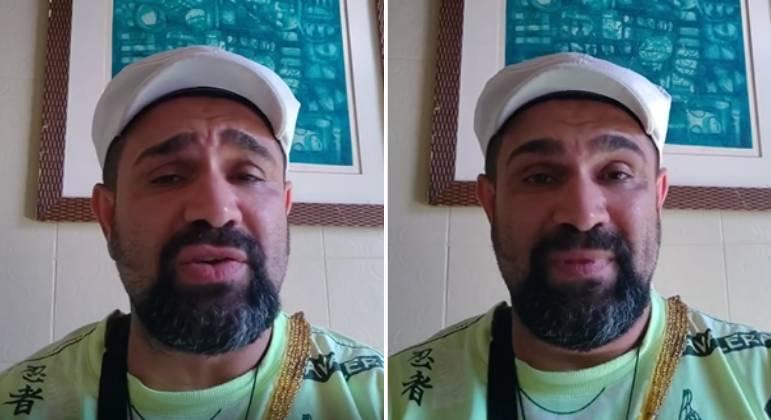 Evandro Santo rebate criticas sobre sua internação em clínica de reabilitação