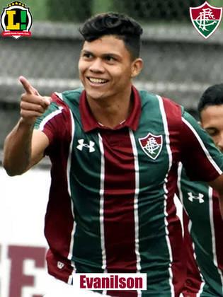 Evanílson - 5,5 - Criou uma boa chance e perdeu outra, mas passou muito tempo isolado pelo pouco poder de criação do Fluminense. Sentiu falta de ver a bola chegar mais e cansou no segundo tempo.