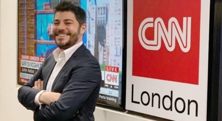 CNN Brasil anuncia a saída do jornalista Evaristo Costa