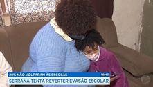 28% não voltaram às escolas: Serrana tentar reverter evasão escolar