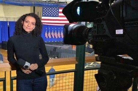 A correspondente internacional Evelyn Bastos passará a trabalhar em Miami, na Flórida