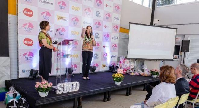 Evento Social Mom Day, presencial, antes da pandemia de covid-19