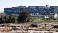 Navio que bloqueou o canal de Suez será liberado na quarta-feira