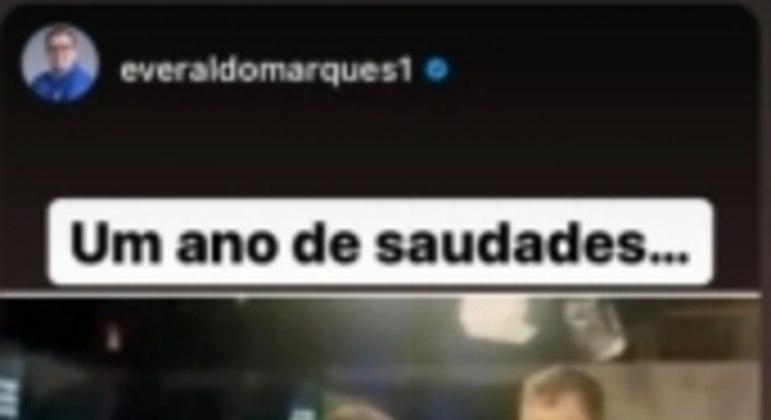 Everaldo Marques presta homenagem a Rodrigo Rodrigues