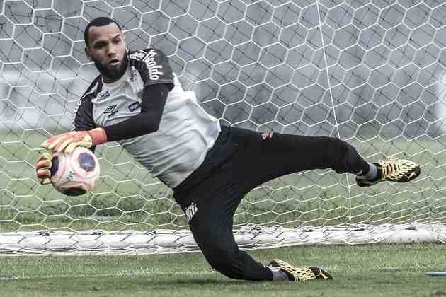 Everson: o goleiro pediu rescisão de contrato com o Santos alegando atrasos nos salários e direitos de imagem.