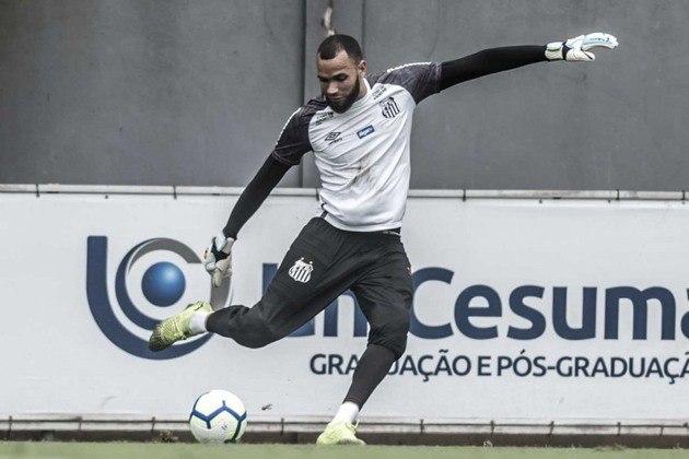 Everson — O goleiro tem contrato com o Santos até 31/12/2022. Segundo o Transfermarkt ele vale 1,2 milhões de euros (cerca de R$ 6,7 milhões)