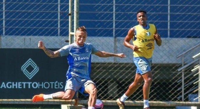 Everton é cortado da Seleção Brasileira Crédito: Lucas Uebel / Grêmio / Flickr / Divulgação / CP