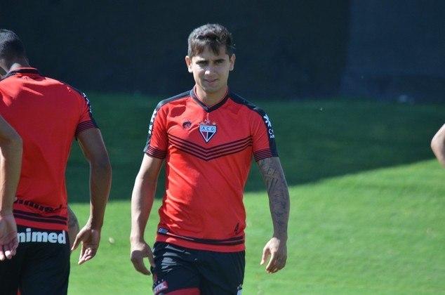 Everton Felipe (meia-atacante - 23 anos) - Pertence ao São Paulo e está emprestado ao Atlético-GO somente até 28/2 - Teve algumas chances como titular, mas atualmente está na reserva