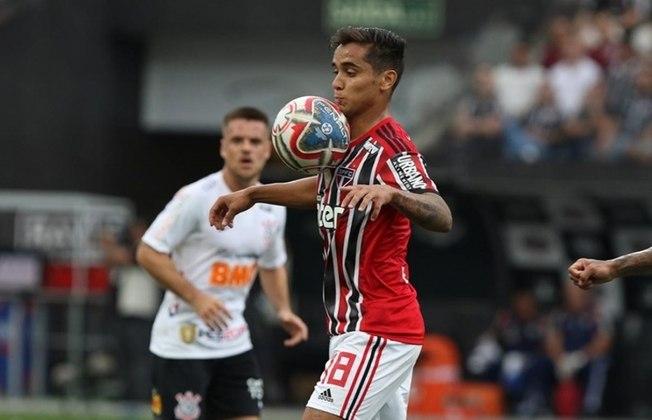 Everton Felipe - O meia de 24 anos, que voltou de empréstimo do Sport, tem contrato com o Tricolor até 31/12/2022