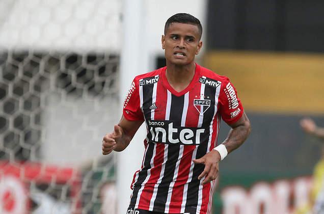 Everton - Guarani 1 X 3 São Paulo - Camisa 22 marcou de cabeça após rebote do goleiro em chute de Hernanes e quebrou a sequência de gols de Pablo, além de um jejum pessoal, já que não marcava desde abril de 2019