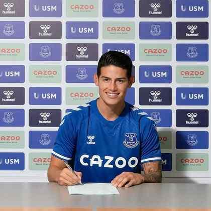 EVERTON - O Everton investiu na nova época 47,3 milhões de euros (cerca de R$ 295,6 milhões). Também investiu alto em nomes como o volante brasileiro Alan e o meia colombiano James Rodríguez. Assim abre o top 5.